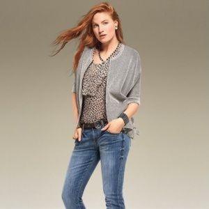 🆕 Cabi Flutter blouse size XL style 3612 cheetah